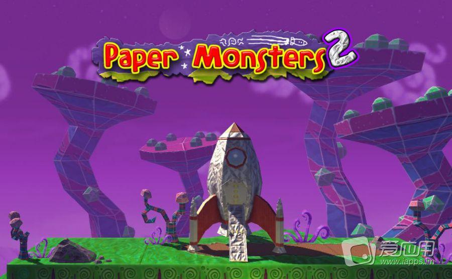 「制作中」跳跃过关续作-纸怪2:Paper Monsters 2