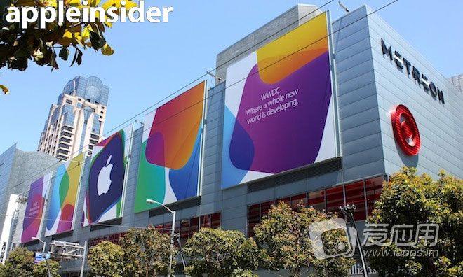 「走进WWDC会场」极简 iOS 7和 OS X 横幅亮相 WWDC