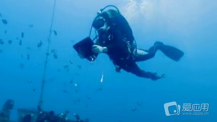 海底探测:benthic transect