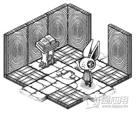 游戏中玩家将控制小兔子,小猪,未知名的长脖子动物等在一个有着非现实
