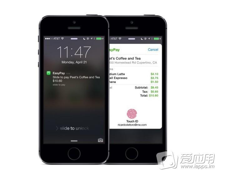 【概念设计】苹果移动支付