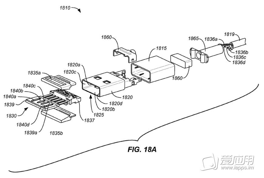 专利证明 苹果专利显示双面 usb 接口