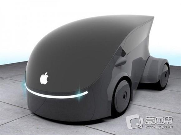 概念欣赏 苹果汽车概念设计赛获奖作品欣赏