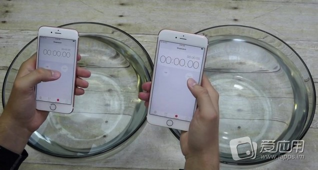"""【""""耐力""""惊人】iPhone 6s/6s Plus 防水测试"""