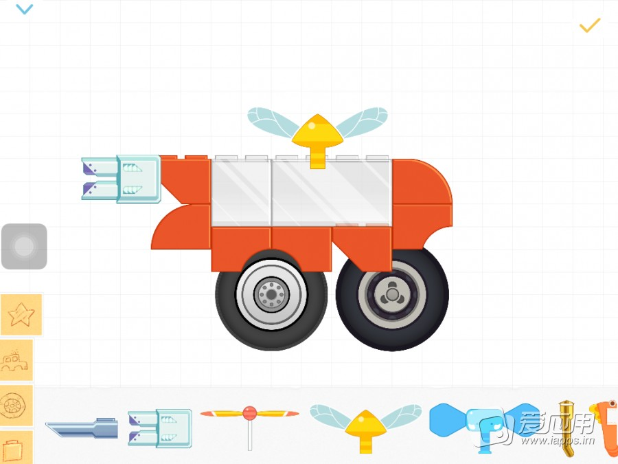 「labo积木车(3+) 」是一款类似堆积木的儿童小游戏