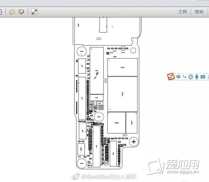 """最新爆料 疑似""""iphone 8""""主板电路图曝光 有何发现"""