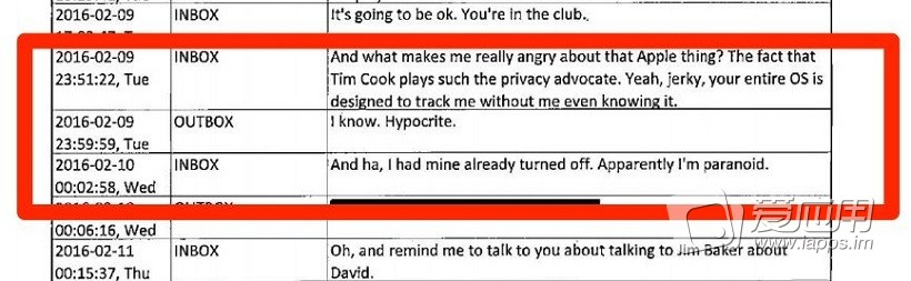 【你怎么看】短信泄密:FBI特工称苹果库克是伪